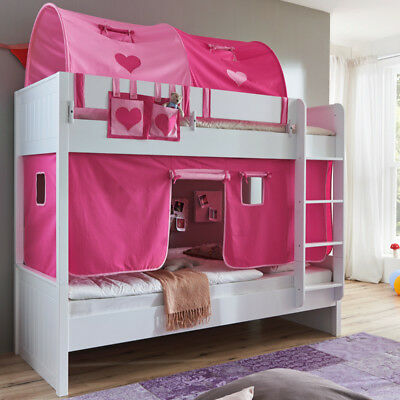 etagenbett maxi kinderbett hochbett kinderzimmerbett bett wei sandeiche 90x200 eur 379 95. Black Bedroom Furniture Sets. Home Design Ideas