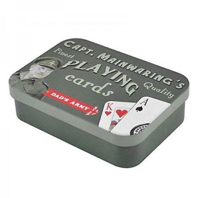 Dad's Army -  Captain Mainwaring's Playing Cards in a Tin - Fun Gift Father Son