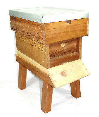 National Nucleus Beehive 6 Frame Bee Keeping Pine / Cedar assembled no frames