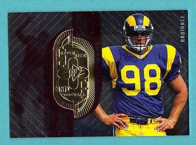 1998 SPX Finite Radiance  Set Break #186 Grant Wistrom Rookie 04/50