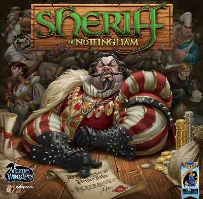 Arcane Wonders Sheriff of Nottingham Board Game For Ages 14+