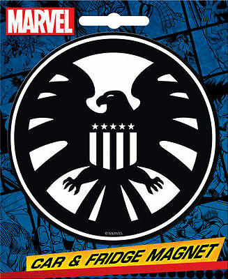 Marvel Heroes Car Magnet: Agents Of S.H.I.E.L.D. (Shield) Logo