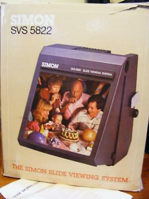Simon Svs 5822 Slide Viewing System With Slides
