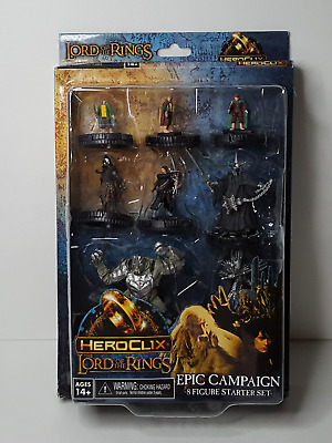 HEROCLIX - The Lord of the Rings, Epic Campaign 8-figure starter set, NEW