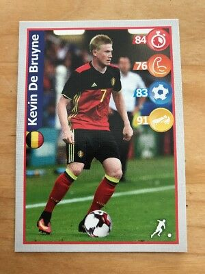 K. De Bruyne Carte Collection Panini Football Superstar Stickers World Cup 2018
