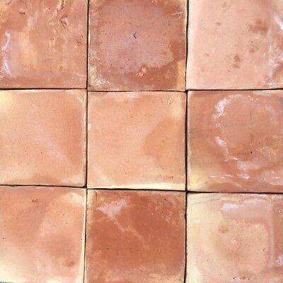 BERT & MAY Original Square Terracotta TILES x 32 (Brand New, Reclaimed Style)