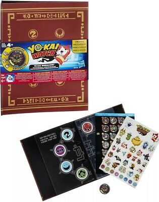 Yo-Kai Watch Medallium Collection Book 1 Medal RRP £16.99 Stickers Yokai kids