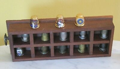 Vintage Collection of 31 Thimbles