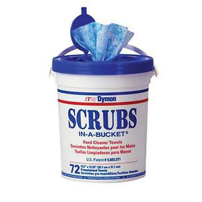 Scrubs  In A Bucket Hand Cleaner Wipes 72/ Container