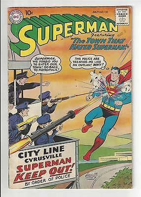 SUPERMAN #130, 1959, VG CONDITION COPY, 2nd Appearance of Krypto, The Superdog