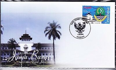 Indonesia Provinces 2008  Jawa Barat First Day Cover