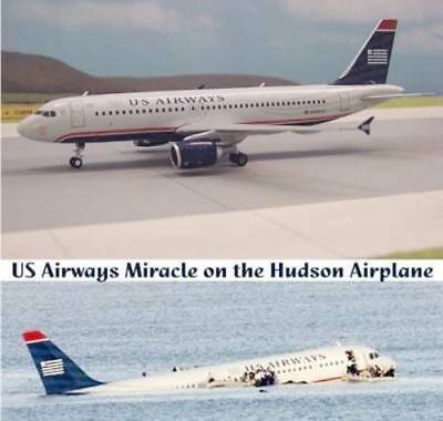 Gemini G2USA183 US Airways A320 Miracle On Hudson N106US Diecast 1/200 Jet Model