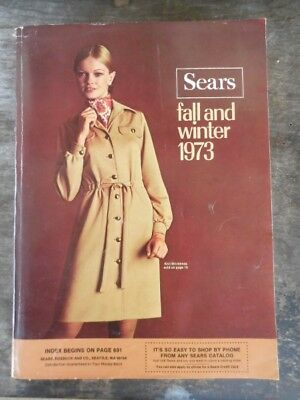 1973 Vintage Sears Fall Winter Catalog