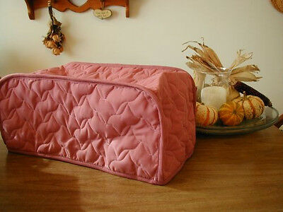 Rose Large Toaster Oven Appliance Cover FEW LEFT Solid and Cotton blend