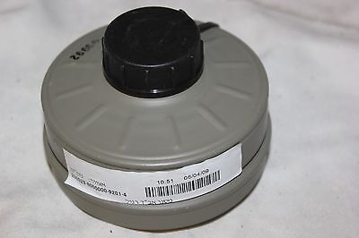 NEW Sealed Genuine Military Premium Israeli NATO NBC 40mm Gas Mask Filter NEW 2