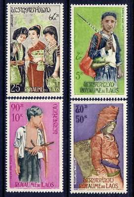 LAOS Sc#100,C43-5 1964 People of Laos MNH