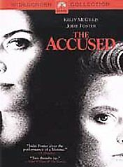 The Accused DVD, Kelly McGillis, Jodie Foster, Bernie Coulson, Leo Rossi, Ann He