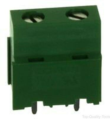 Pluggable Terminal Block, Side Wire Entry, 7.5 mm, 2 Ways, 30 AWG, 12 AWG, Screw