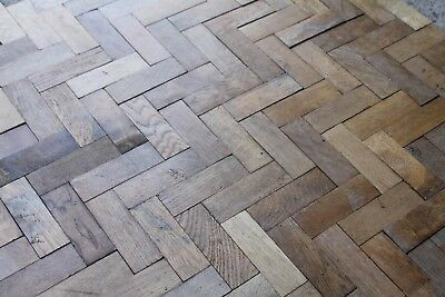 Reclaimed 1910 English Oak Finger Parquet Flooring Blocks | Warwick Reclamation