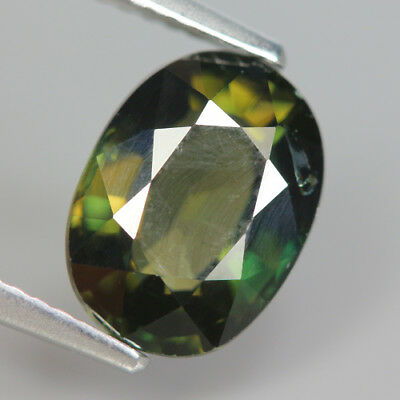 2.95 Ct Natural Unheated Greenish Yellow KORNERUPINE Oval Gem @ See Vide!!