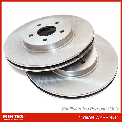 D/_G/_2605 2x Drilled and Grooved 5 Stud 326mm Vented OE Quality Brake Discs Pair