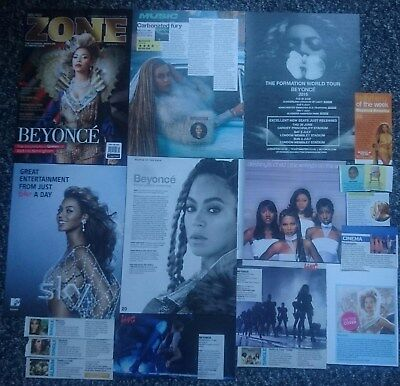 Beyonce - Magazine Cuttings/Advert Collection