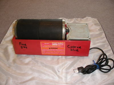 Chicago Dual Drum Rotary Tumbler 3 lb Capacity Rock Glass Stone #90979  (works)