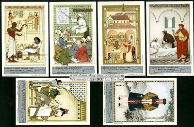 Doctor And Medicine In The Past 6 NICE c60  Y/O Trade Ad Cards