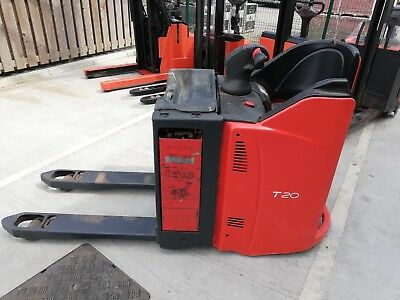 Linde T20 Ride on Power Pallet Truck