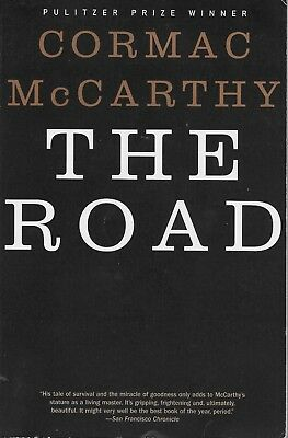 THE ROAD by Cormac McCarthy  midsize paperback book