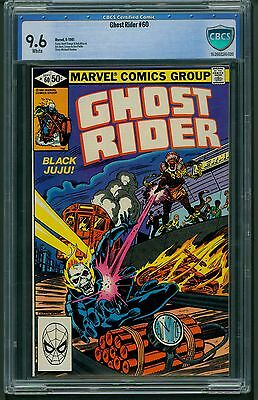 Ghost Rider #60 (1981) CBCS Graded 9.6 ~ Herb Trimpe ~ Bob Wiacek ~ Not CGC