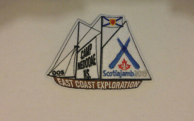 Scouts Canada ScotiaJamb 2015 Offer of Service Participant Badge