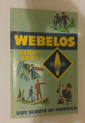 Boy Scouts of America BSA Webelos Scout Book - 1979 Printing (1967 Version)