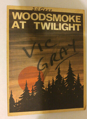 Woodsmoke at Twilight 4th Printing 1965 Stories for Cubs and Scout Scouts Canada