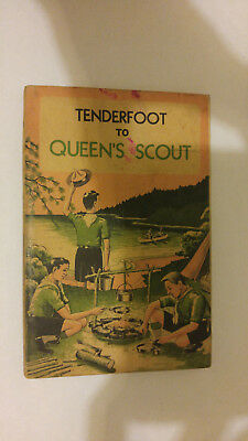 Scouts Canada Tenderfoot to Queen's Scout CAT 20-555 1962 Printing