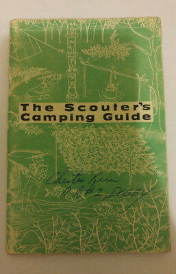 The Scouter's Camping Guide Published by The Boy Scout Association Canada
