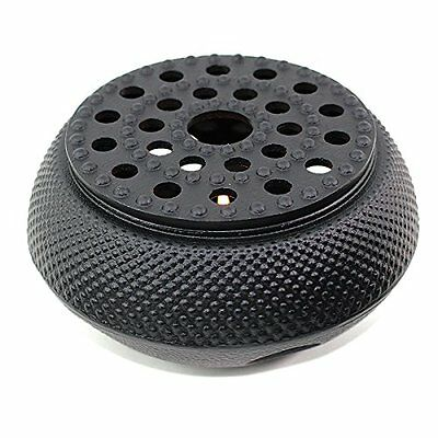 Quality Black Hobnail Small Dot Japanese Cast Iron Tetsubin Teapot Warmer Heater