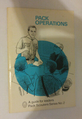 National Council Boy Scouts of Canada Pack Operations Pack Scouter Series 2