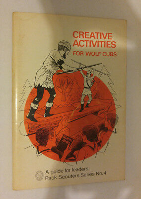 National Council Boy Scouts of Canada Creative Activities for Wolf Cubs Series 4