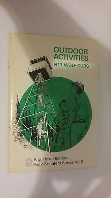 National Council Boy Scouts of Canada Outdoor Activities for Wolf Cubs 5