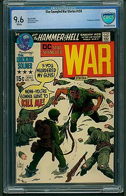 Star Spangled War Stories #155 (1971) CBCS Graded 9.6 ~ Chat Noir ~ Not CGC