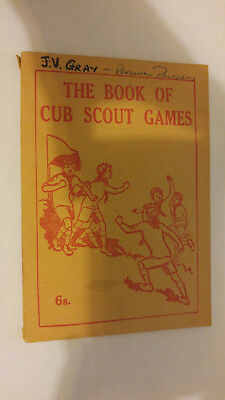 Scout Association London The Book of Cub Scout Games Sixth Edition 196