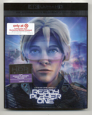 Ready Player One 4K/UHD Target Exclusive (4K Ultra HD + Blu-ray + Digital)