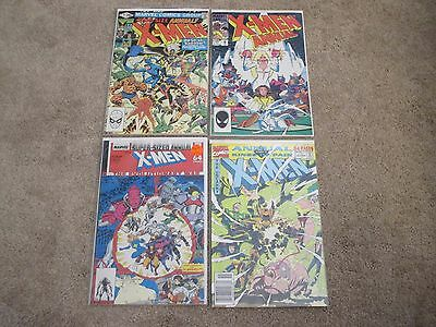 Marvel comics Uncanny X-Men annual lot x4 5 8 12 15 VF