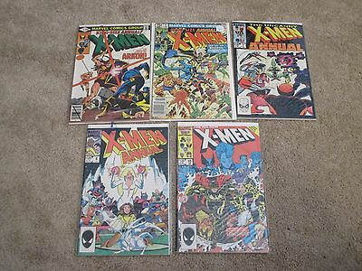 Marvel comics Uncanny X-Men annual lot x9 3 5 7 8 10 12 15 17 18 VF