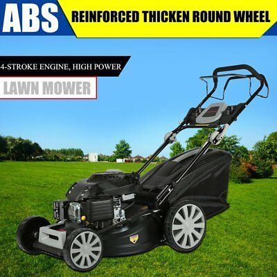 Powerful 20 Inch 218CC Gasoline Lawn Mower Self Propelled 4 Stroke Lawnmower AU