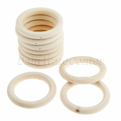 15 X Mix Wooden Rings Natural Wood Craft Rings 70 100 Mm