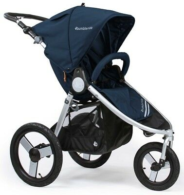 Bumbleride Speed Smooth Push Baby Jogger Jogging Stroller Maritime Blue New 2018