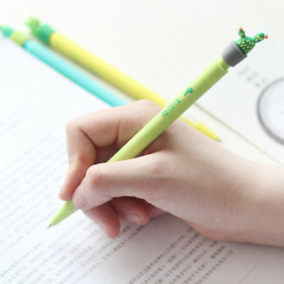 New 0.5mm Cute Cactus Plastic Mechanical Pencil Automatic Pen Kawaii Stationery