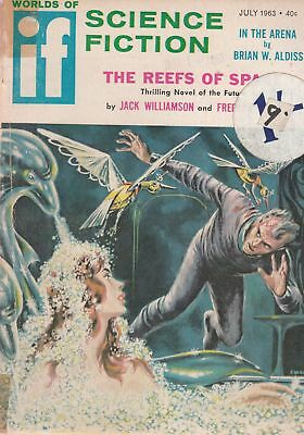 Worlds of If Science Fiction July 1963 - Galaxy - Acceptable - Paperback